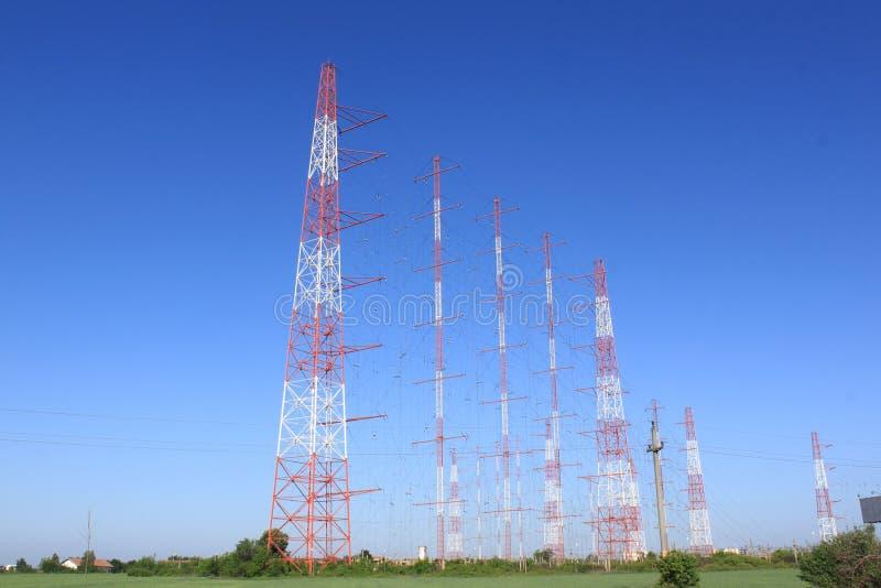 Jamming antennas