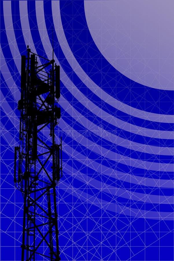 Antenne illustration libre de droits