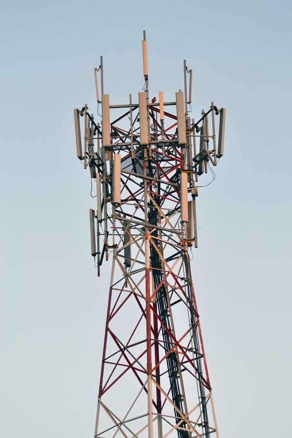 Antenne d'émission de fléau photos libres de droits