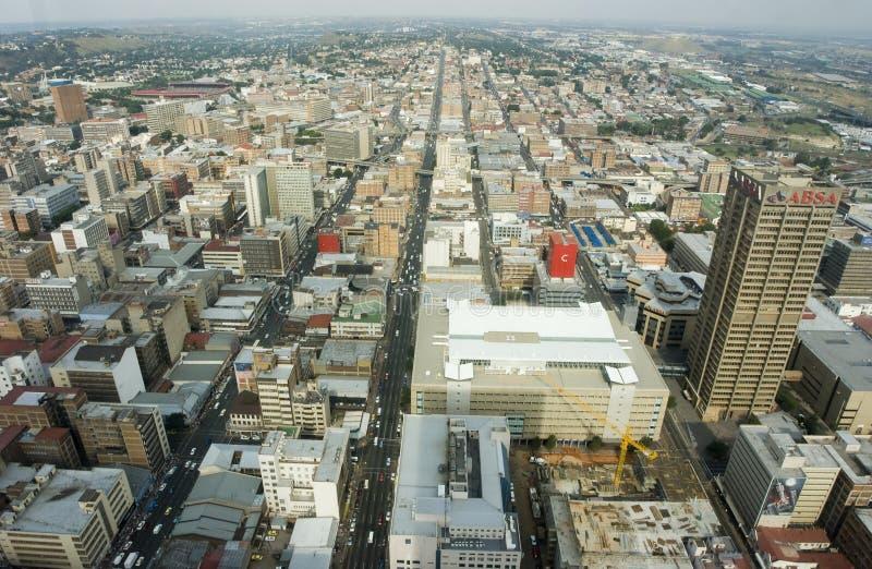 Antenne de Johannesburg photos stock