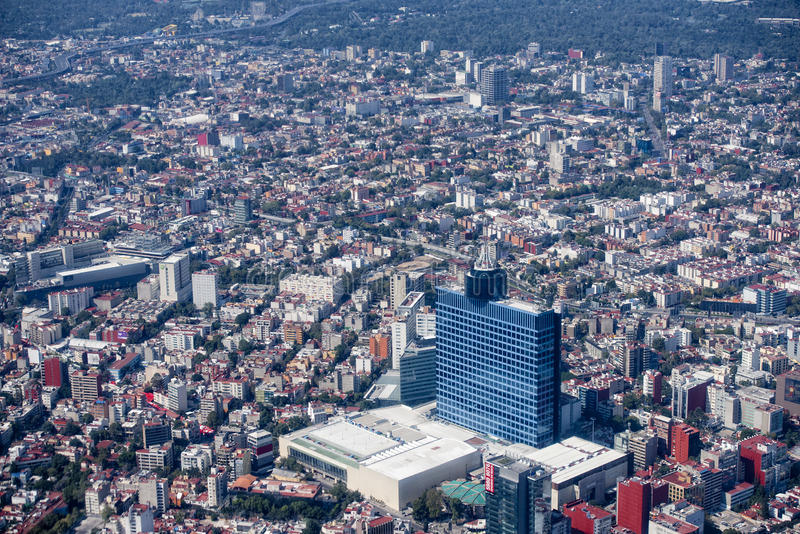 Antenne de Mexico photos libres de droits