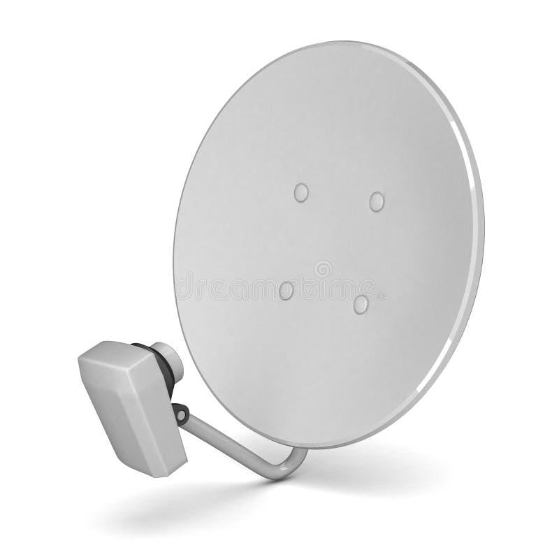 Antenne de Satcom illustration de vecteur