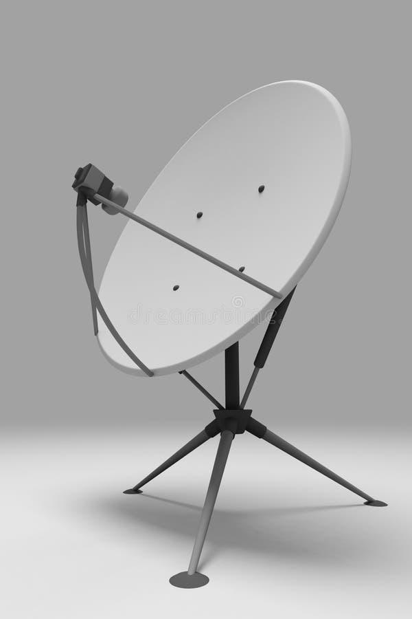 Antenne de transmissions illustration de vecteur