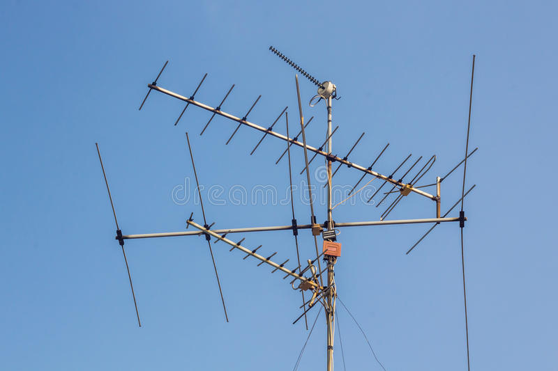 Antenne de TV photo libre de droits