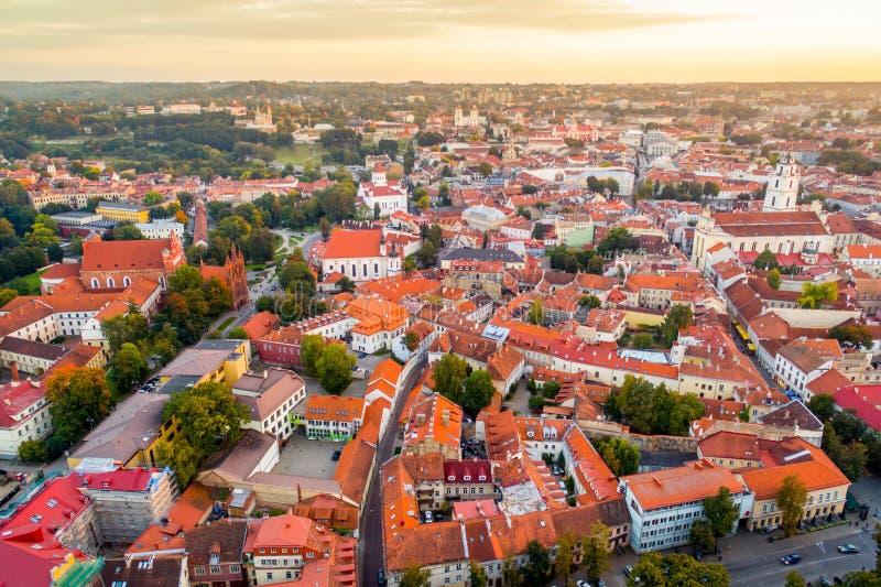 Antenne de Vilnius images libres de droits