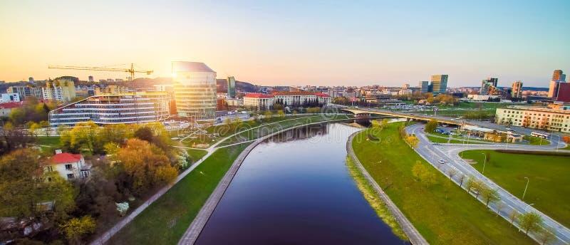 Antenne de Vilnius photo libre de droits
