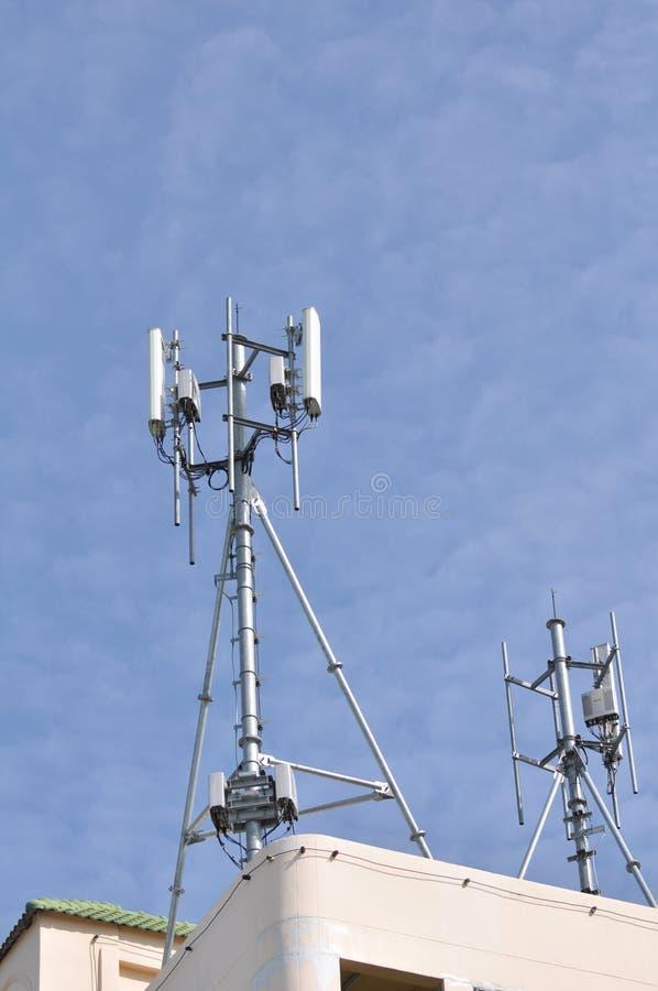 Antenne del telefono senza fili immagini stock libere da diritti