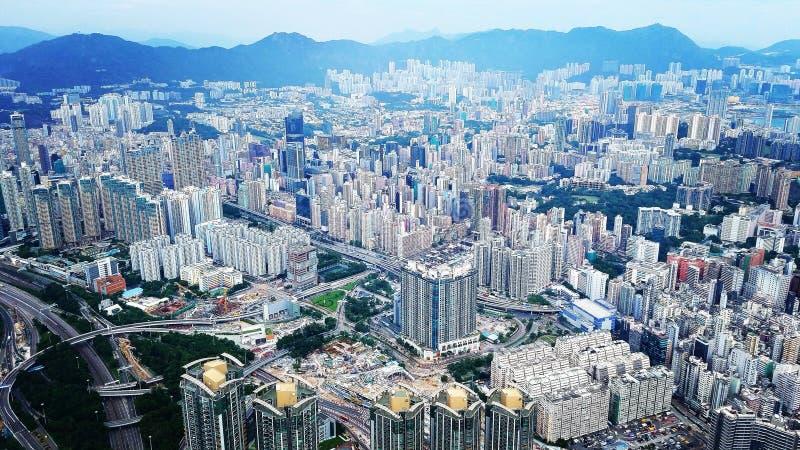 Antenne, Hong Kong stock foto's