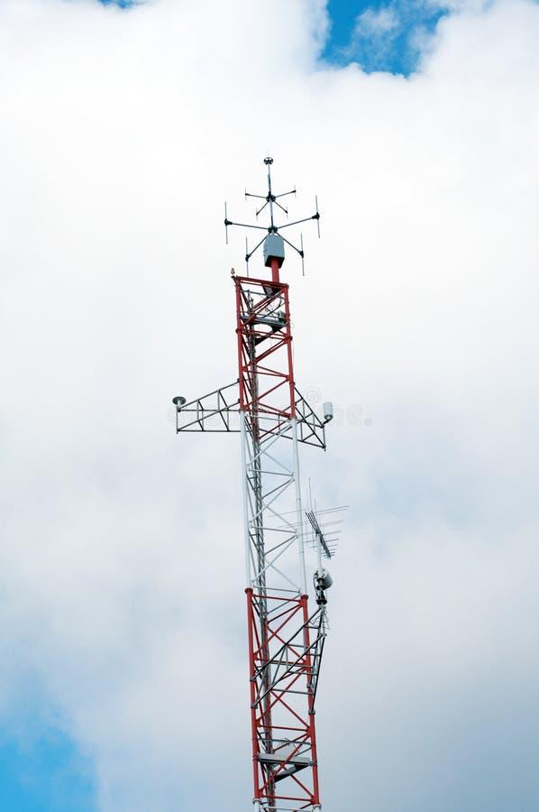 Antenne im Himmel lizenzfreies stockbild