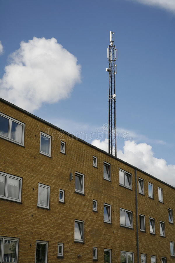 Antenne mobile photographie stock libre de droits