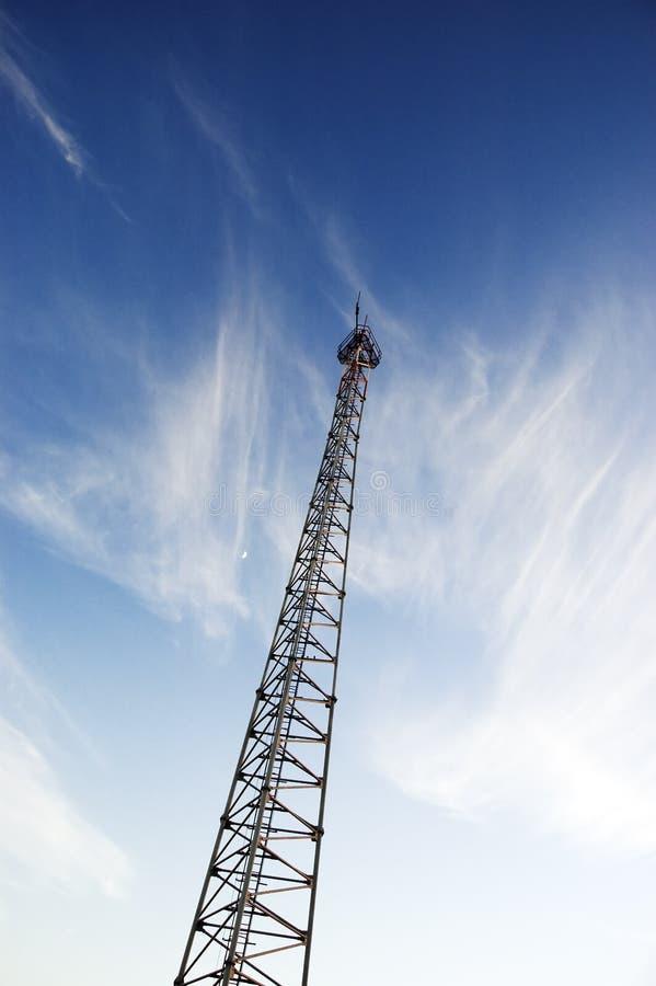Antenne par radio image libre de droits