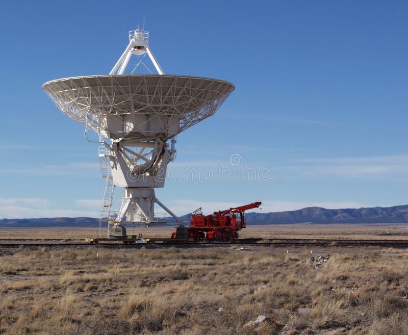 Antenne - sur le mouvement photo libre de droits