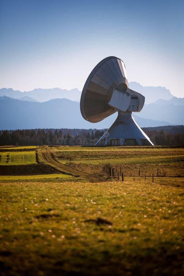 Antenne terrestre Raisting photographie stock