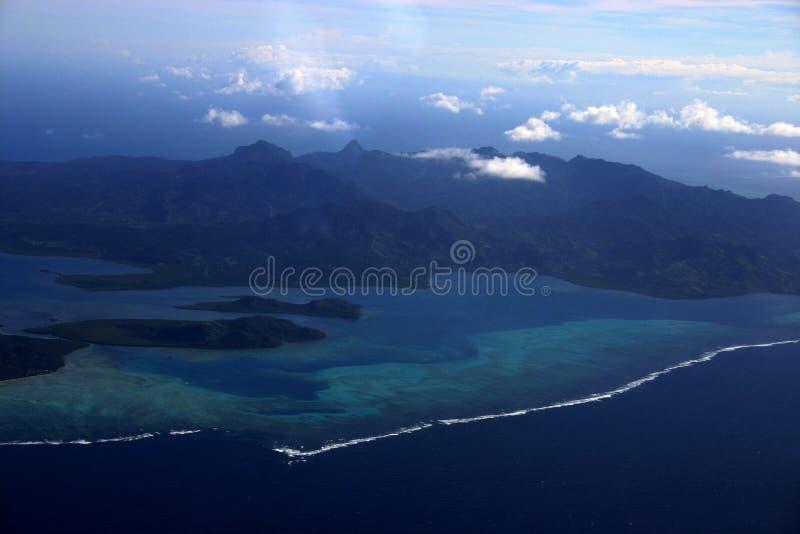 Antenne Twee van Fiji  stock fotografie