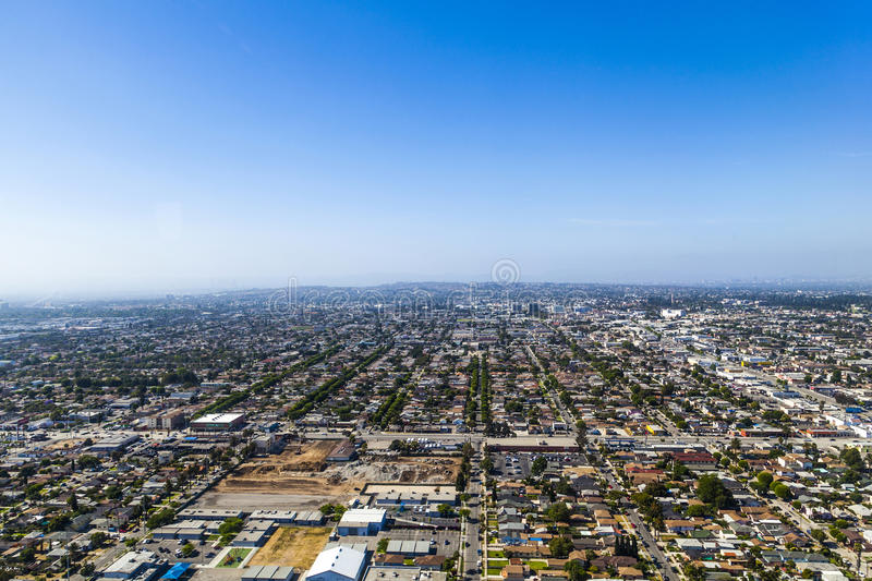 Antenne van Los Angeles stock fotografie