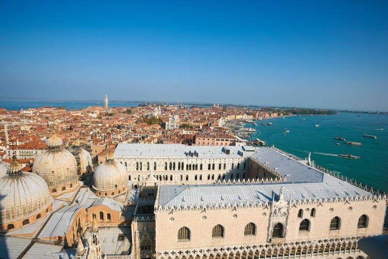 Antenne von Venedig lizenzfreies stockfoto
