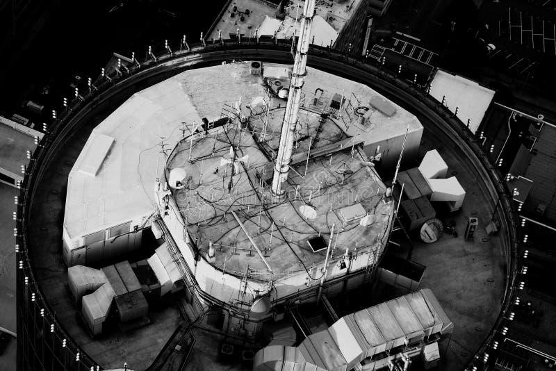 Antennen-Bauernhof lizenzfreie stockfotos