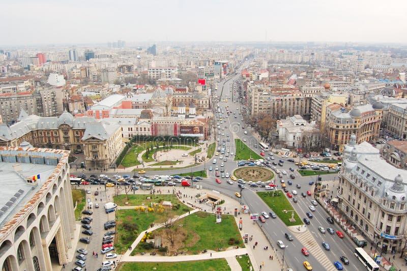 Bucharest Rumänien arkivfoton