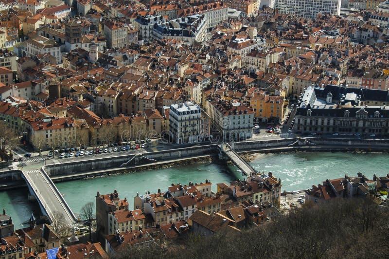 Grenoble FRANKRIKE royaltyfria bilder