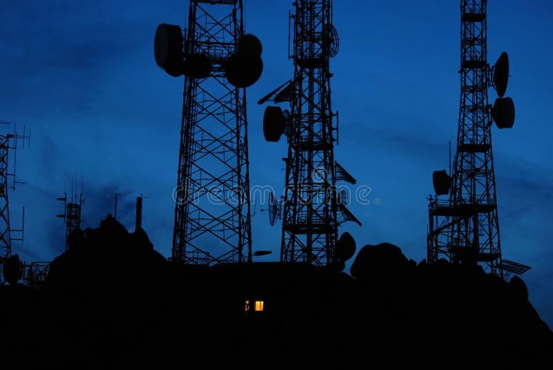 Antennes photo stock