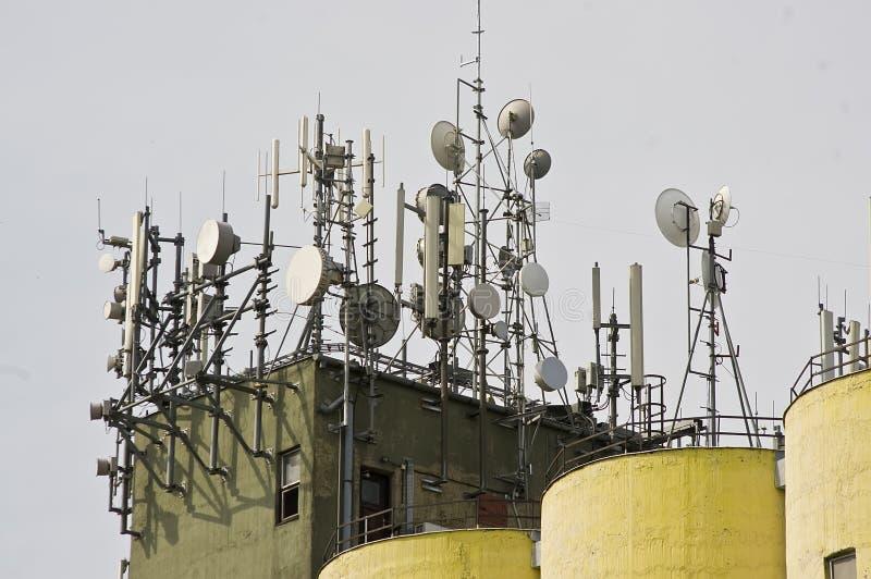 Antennes stock afbeelding