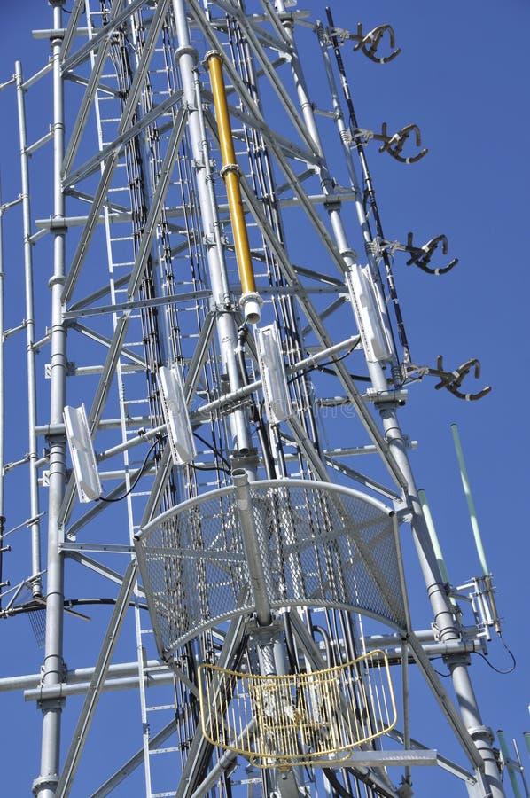 Antennes 3 de télécommunication photos stock