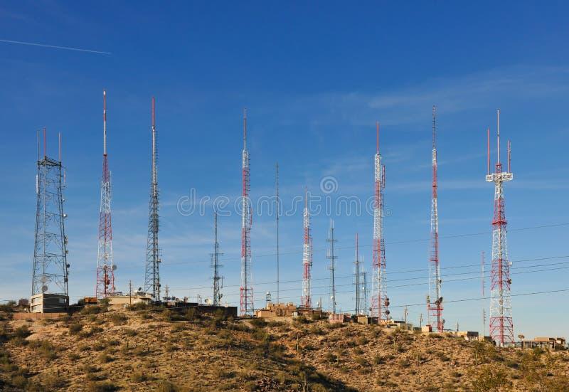 Antennes stock fotografie