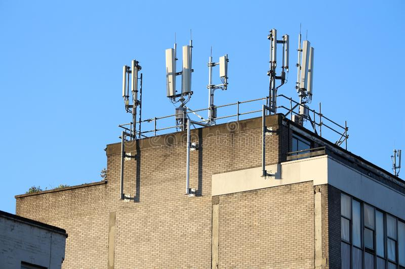 Antennes de cellules photo stock