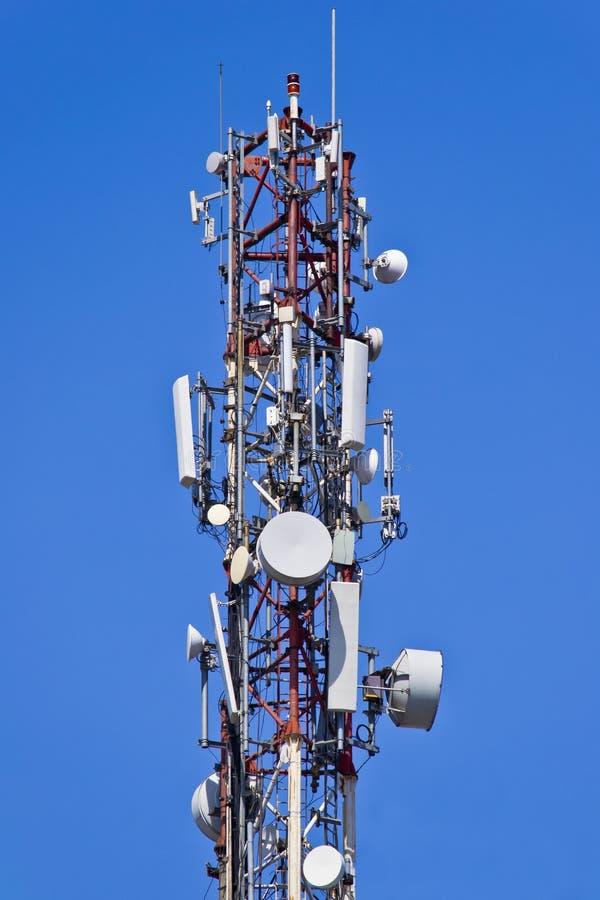 Antennes de télécommunication images stock