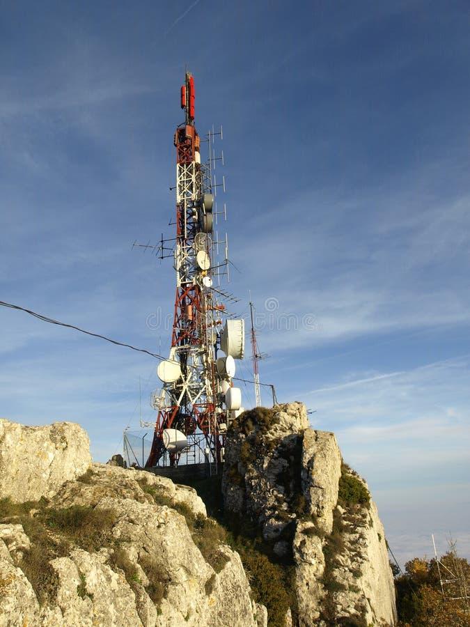 Antennes in La Herrera royalty-vrije stock afbeelding