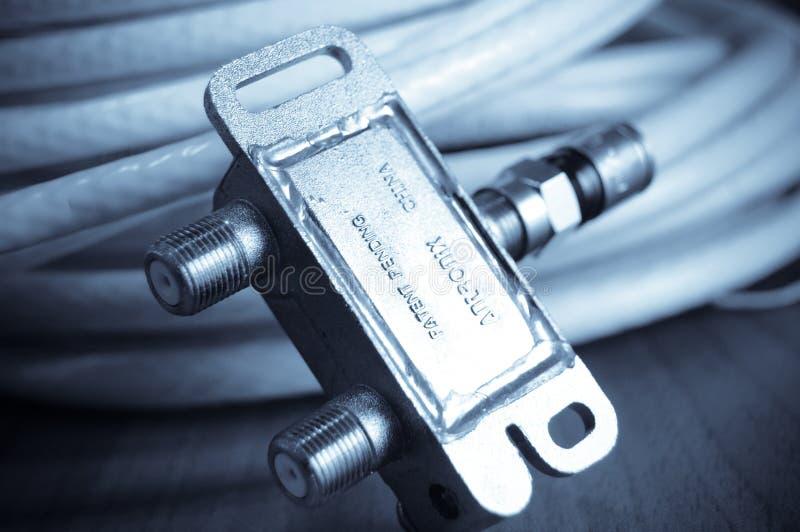 antennkabel-TV arkivfoton
