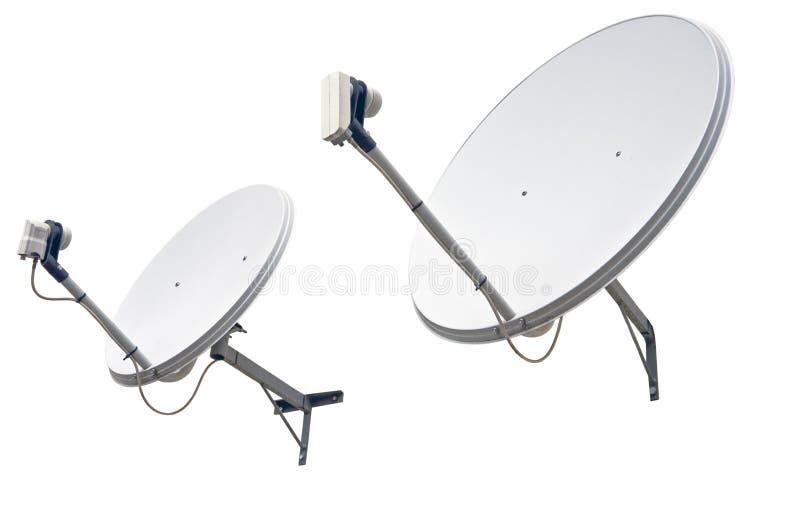 antennmaträttsatellit royaltyfri fotografi