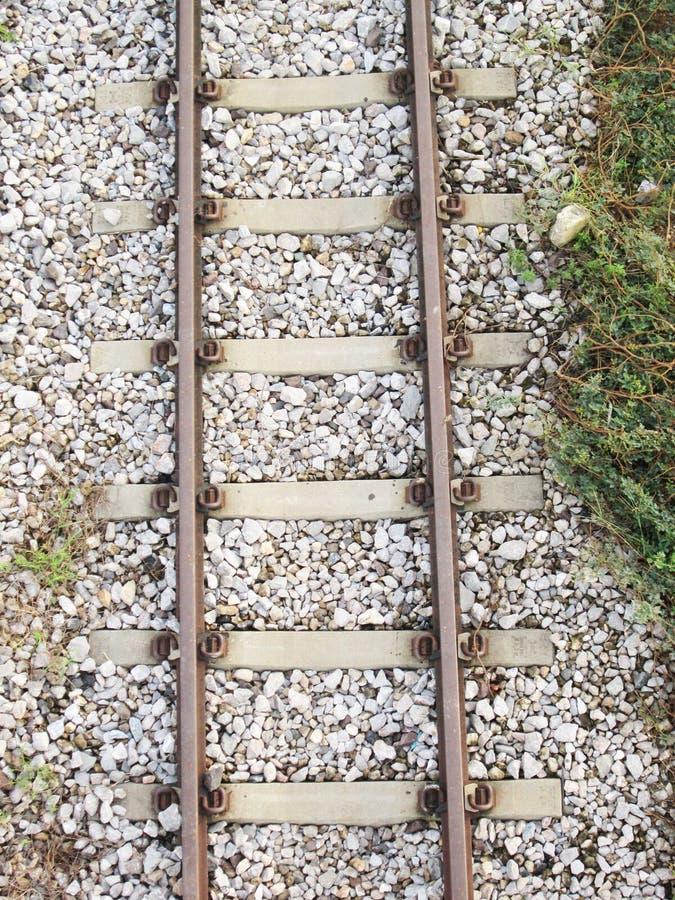 Antennskott av järnväg arkivfoton
