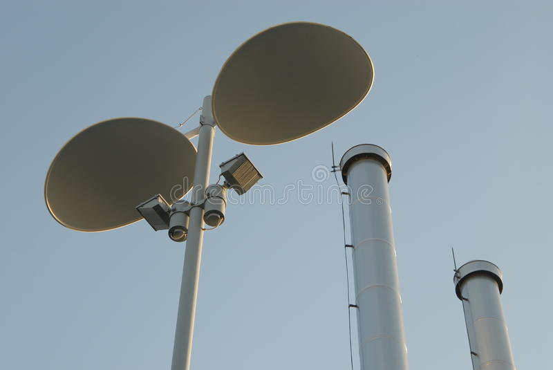 anteny zdjęcie royalty free