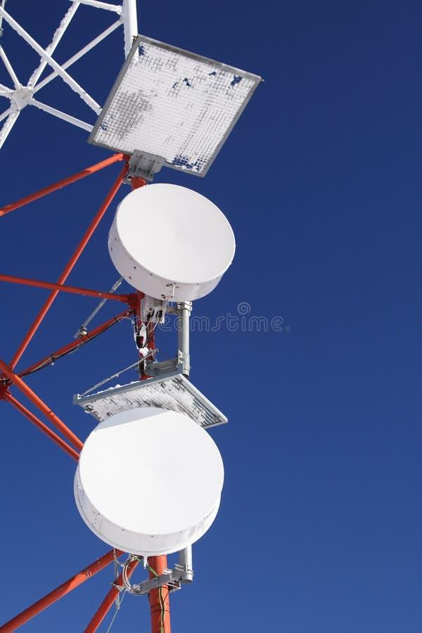 anteny błękitny marznący gsm niebo zdjęcia stock