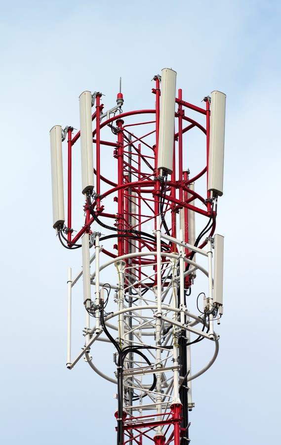 anteny komunikacja obraz stock