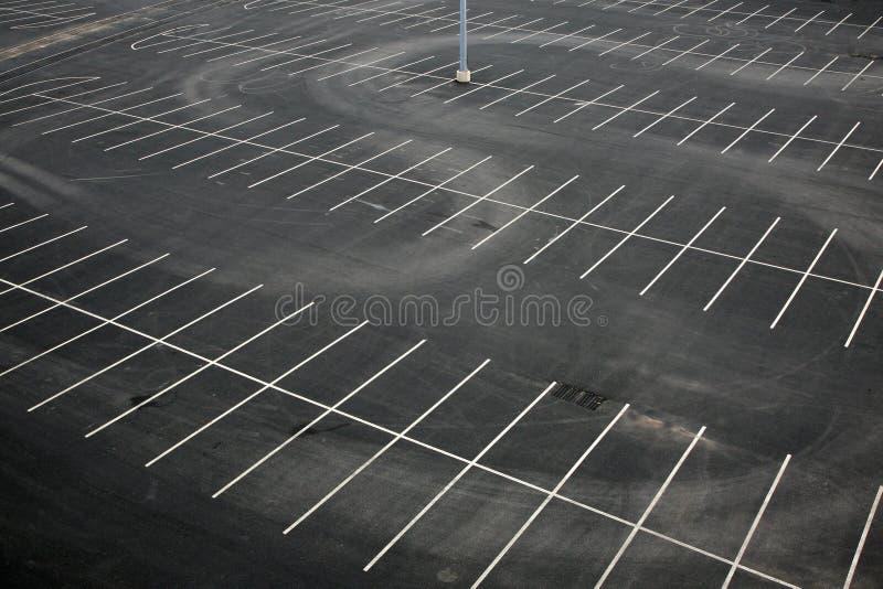 anteny pusty udziału parking widok obrazy royalty free