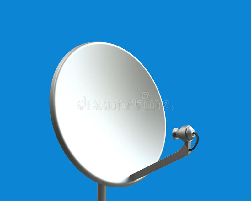 anteny satelita ilustracji