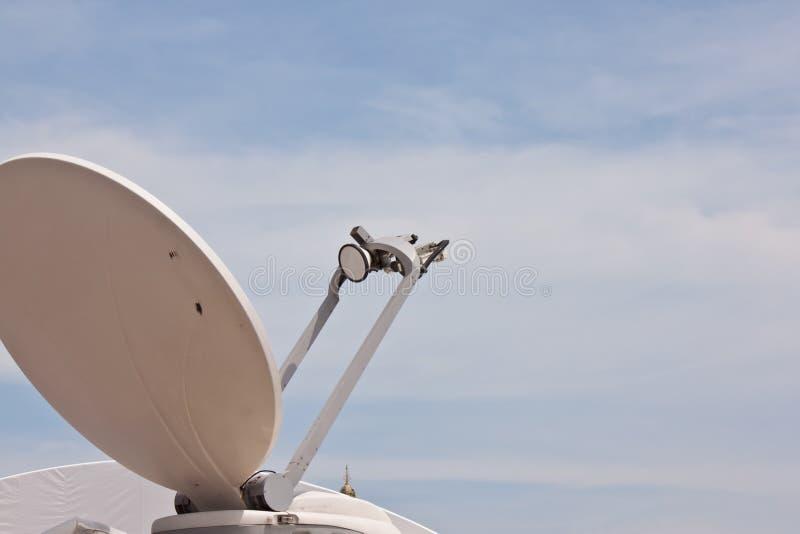 Anteny satelitarne zdjęcia royalty free