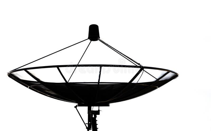 Anteny satelitarnej technologii komunikacyjnej sieć fotografia stock