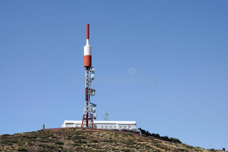 anteny transmisja obraz stock