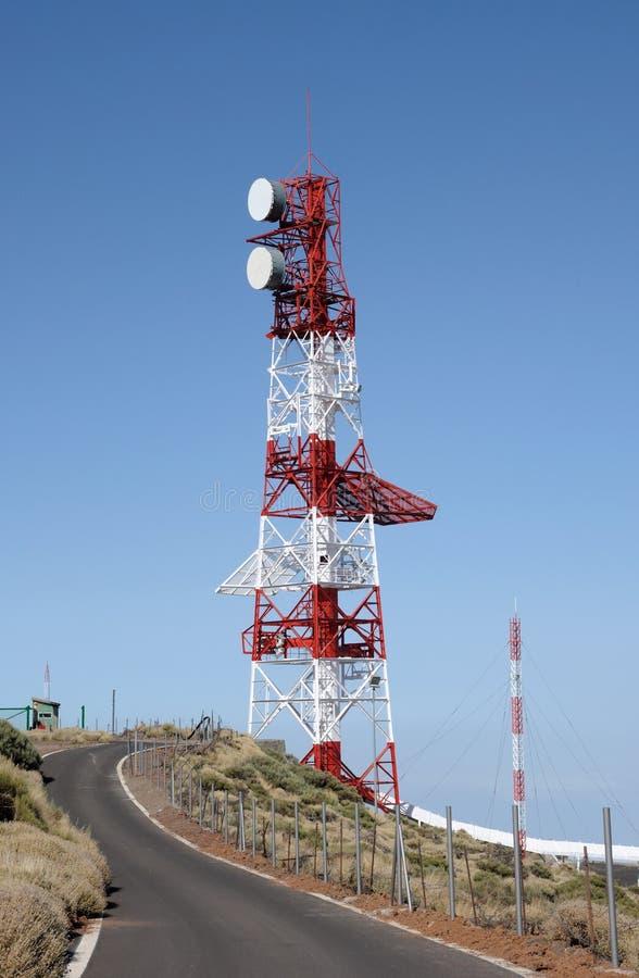 anteny transmisja obrazy royalty free