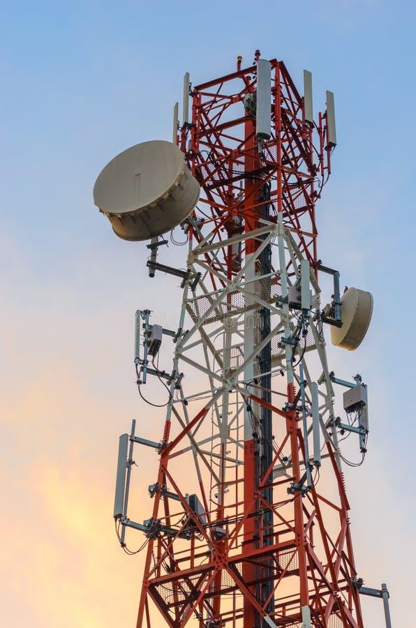 Anteny wierza zdjęcie royalty free