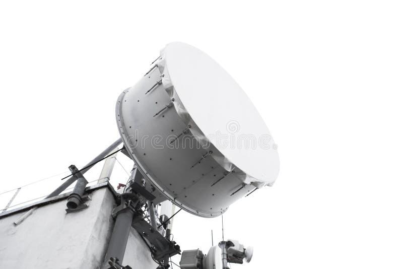 Anteny wierza dla transmisja sygnału zdjęcie stock