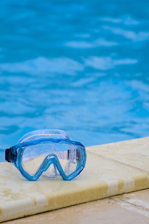 Anteojos de la natación imágenes de archivo libres de regalías