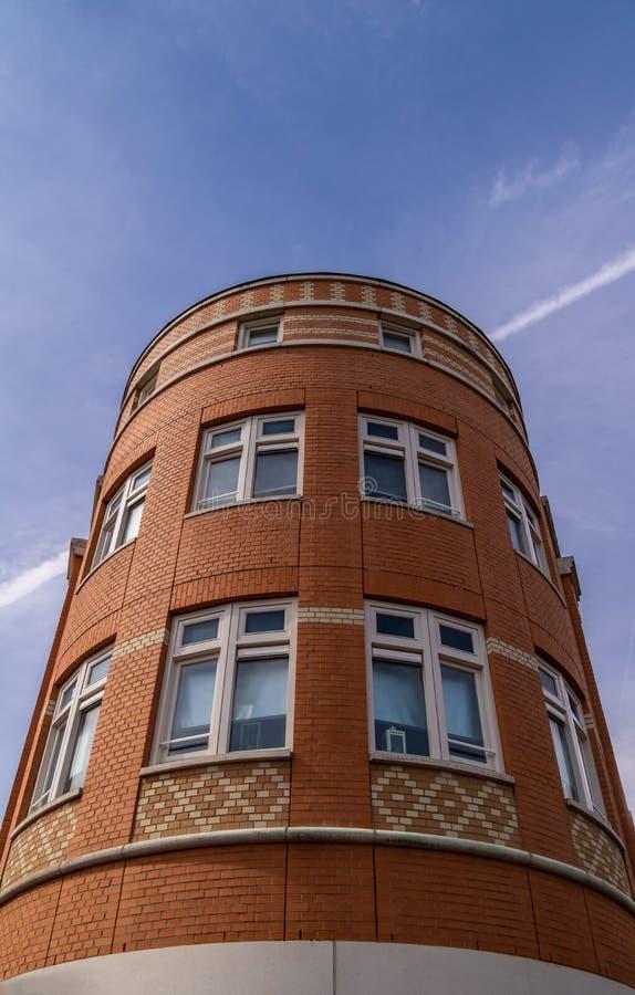 Anteprime di un appartamento con cielo aperto Oosterhout, Paesi Bassi immagine stock
