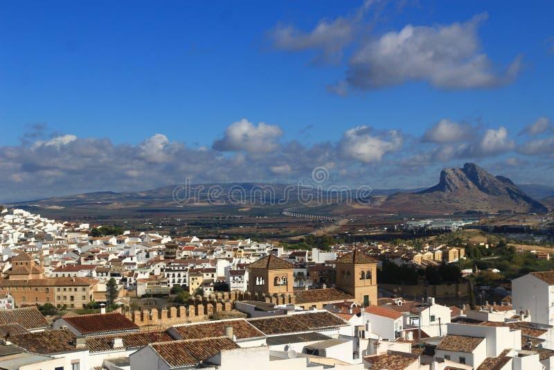 Antequera-Ansicht stockfotografie
