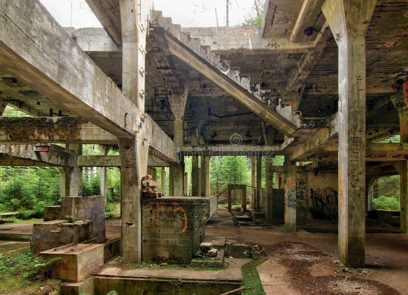 Anterior mina de lata y las prisiones Rolava - Sauersack de la guerra imagenes de archivo