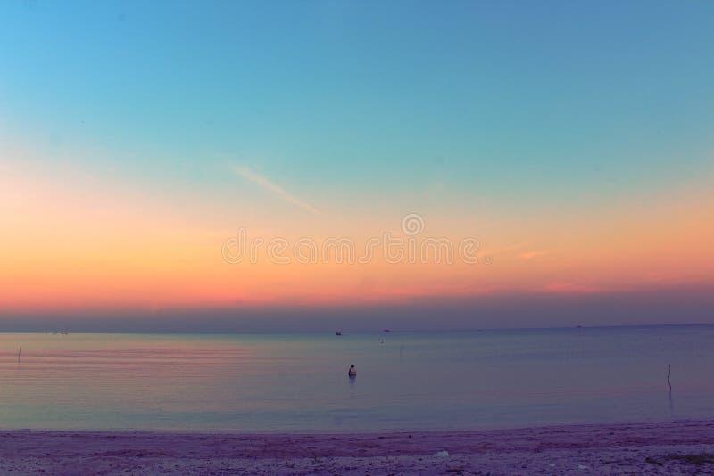 Antes de la salida del sol imagen de archivo libre de regalías