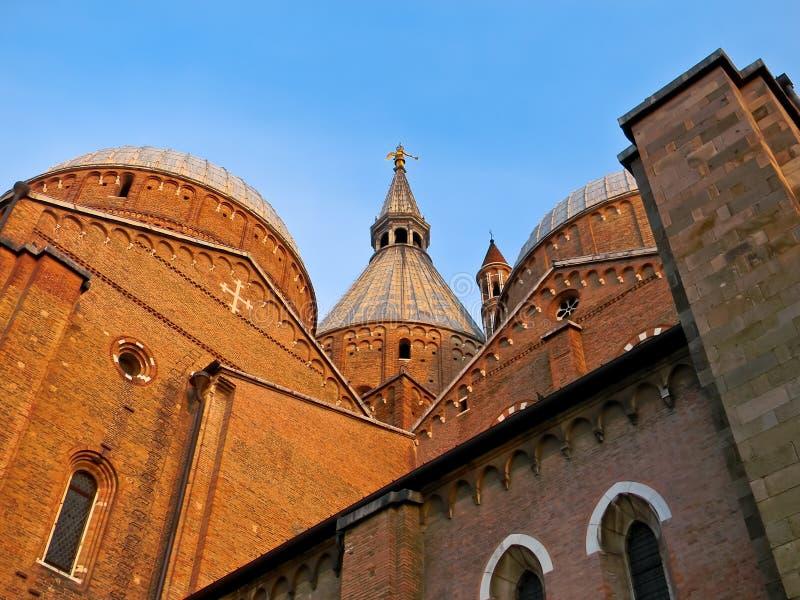 anthony bazyliki Padua st widok zdjęcia stock